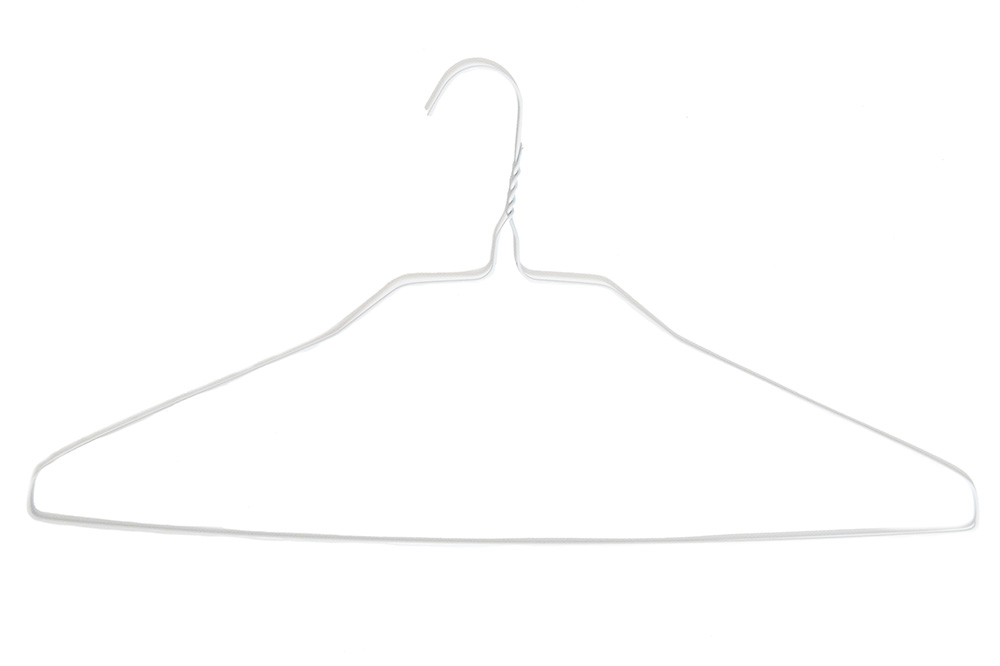 Hanger - White SHIRT 18 14.5g (500)